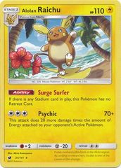 Alolan Raichu - 31/111 - Rare - Non-Holo Theme Deck Exclusive on Channel Fireball