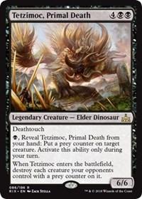 Tetzimoc, Primal Death - Foil