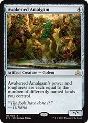 Awakened Amalgam - Foil on Channel Fireball
