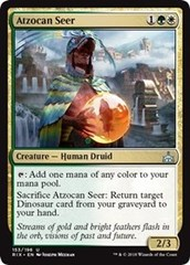 Atzocan Seer - Foil on Channel Fireball