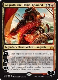 Angrath, the Flame-Chained - Foil