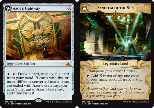 Azors Gateway // Sanctum of the Sun - Foil