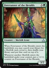 Forerunner of the Heralds - Foil