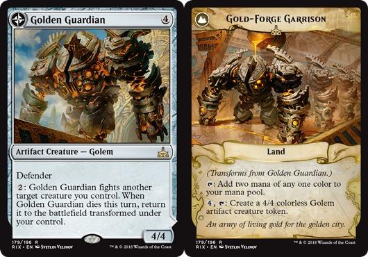 Golden Guardian // Gold-Forge Garrison - Foil