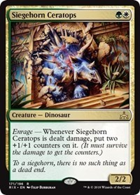 Siegehorn Ceratops - Foil