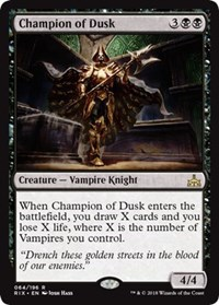 Champion of Dusk - Foil