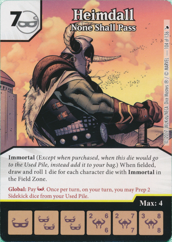 Heimdall - None Shall Pass (Card Only)