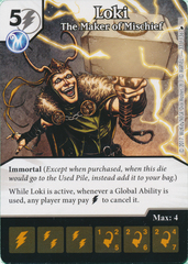Loki - The Maker of Mischief (Card Only)