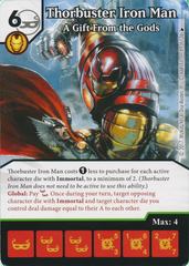Thorbuster Iron Man - A Gift From the Gods (Card Only)