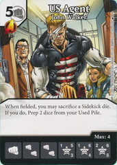 US Agent - John Walker (Card and Die Combo) Foil