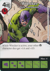 Wrecker - Dirk Garthwaite (Card and Die Combo) Foil
