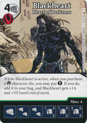 Blackheart - Heart of Darkness (Die and Card Combo)