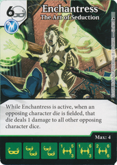 Enchantress - The Art of Seduction (Die and Card Combo)