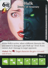 Hulk - Power of Attorney (Die and Card Combo)