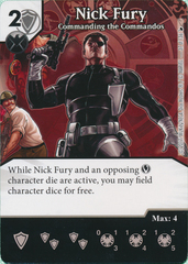 Nick Fury - Commanding the Commandos (Die and Card Combo)