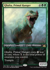 Ghalta, Primal Hunger Rivals of Ixalan Store Championship Foil