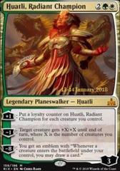 Huatli, Radiant Champion - Foil - Prerelease Promo