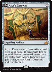 Azor's Gateway // Sanctum of the Sun (Rivals of Ixalan Prerelease Foil)