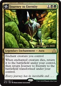Journey to Eternity // Atzal, Cave of Eternity - Foil - Prerelease Promo