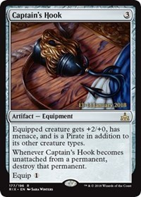 Captains Hook - Foil - Prerelease Promo