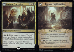 Profane Procession // Tomb of the Dusk Rose - Foil - Prerelease Promo