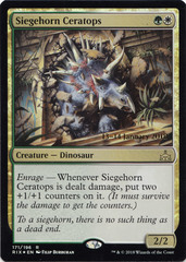 Siegehorn Ceratops - Foil - Prerelease Promo