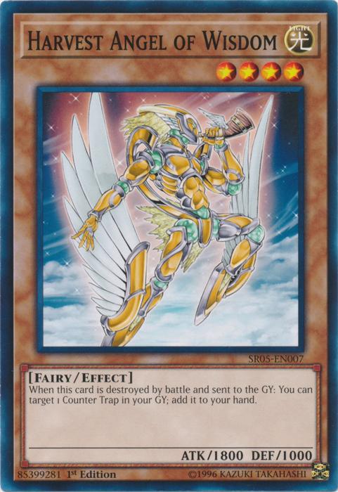 Harvest Angel of Wisdom - SR05-EN007 - Common - 1st Edition