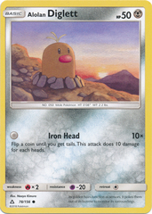 Alolan Diglett - 78/156 - Common on Channel Fireball