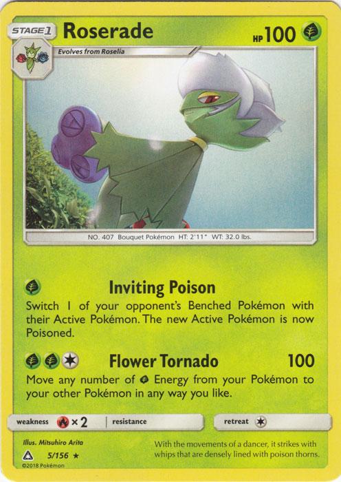 Pokemon SM Ultra Prism Card Drapion 55//156 Reverse Holo