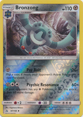 Bronzong - 87/156 - Uncommon - Reverse Holo on Channel Fireball
