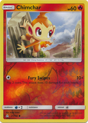 Chimchar (21) - 21/156 - Common - Reverse Holo