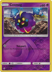 Cosmog - 60/156 - Common - Reverse Holo on Channel Fireball