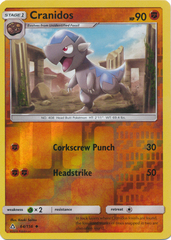 Cranidos - 64/156 - Uncommon - Reverse Holo on Channel Fireball