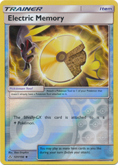 Electric Memory - 121/156 - Uncommon - Reverse Holo