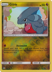 Gible - 96/156 - Common - Reverse Holo
