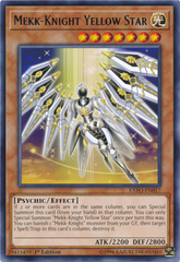 Mekk-Knight Yellow Star - EXFO-EN017 - Rare - 1st Edition