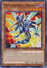 Metalrokket Dragon - EXFO-EN008 - Rare - 1st Edition