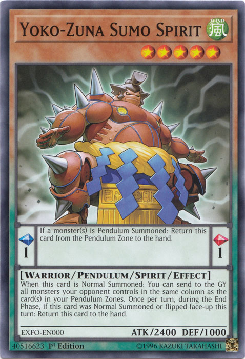 Yoko-Zuna Sumo Spirit - EXFO-EN000 - Common - 1st Edition