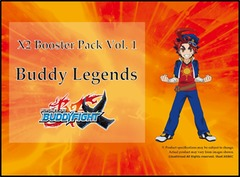 Bfe Buddy Legends Booster - Booster Pack