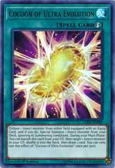 Cocoon of Ultra Evolution - LED2-EN009 - Ultra Rare - 1st Edition
