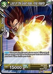 Lord of the Great Apes, King Vegeta - BT3-093 - C