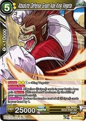 Absolute Defense Great Ape King Vegeta - BT3-092 - R