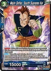 Majin Defier, South Supreme Kai - BT3-040 - C