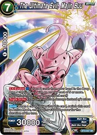 The Ultimate Evil, Majin Buu - BT3-047 - SR