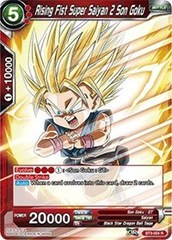Rising Fist Super Saiyan 2 Son Goku - BT3-004 - R