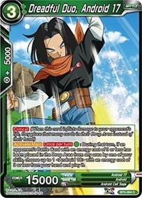 Dreadful Duo, Android 17 (Foil) - BT3-064 - C