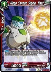 Mega Cannon Sigma, Natt (Foil) - BT3-023 - C