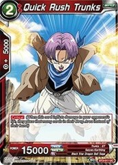 Quick Rush Trunks (Foil) - BT3-011 - UC