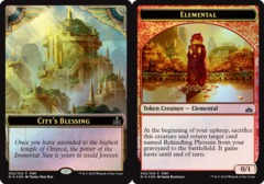 City's Blessing // Elemental Token - Foil 2018 FNM Promo