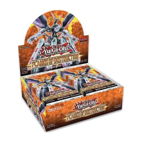Flames Of Destruction - Booster Box
